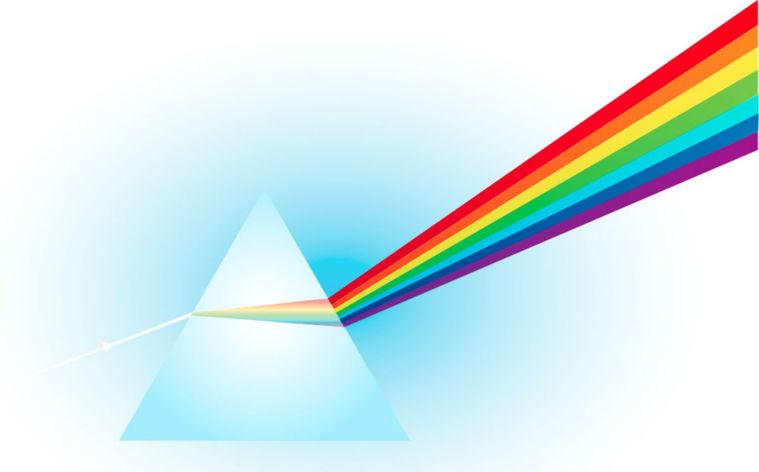 colores del arcoiris ciencia