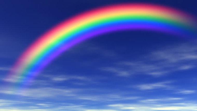 colores del arcoiris luz