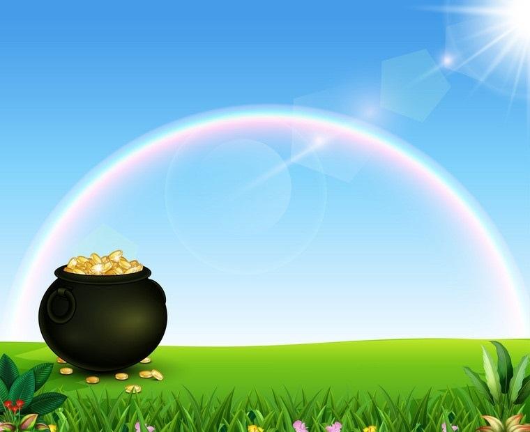 colores del arcoíris mitos