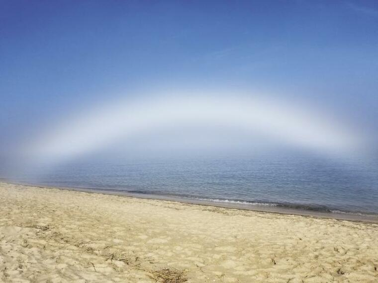 colores del arcoiris niebla
