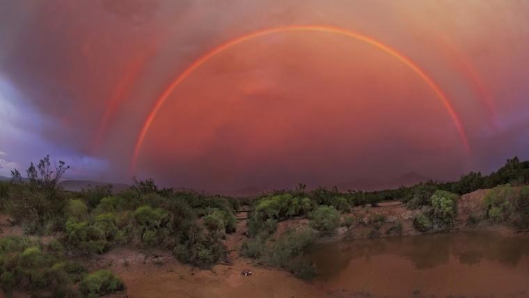 colores del arcoíris perfecto