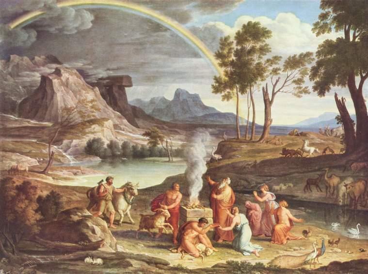 colores del arcoiris pintura
