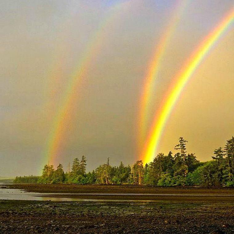 colores del arcoiris varios