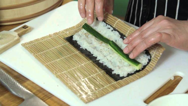 comida tipica japonesa preparacion