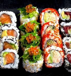 comida tipica japonesa presentacion