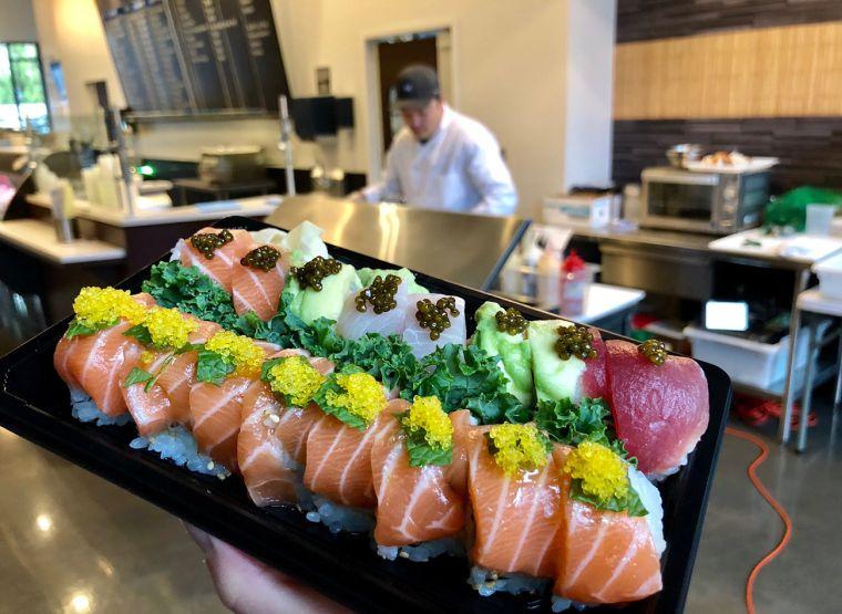 comida tipica japonesa restaurante