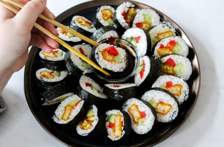 comida tipica japonesa soja