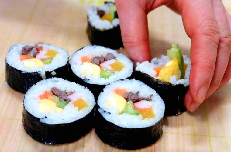 comida típica japonesa tradicional