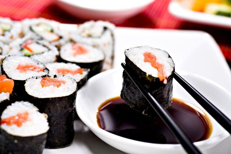 comida tipica japonesa wasabi