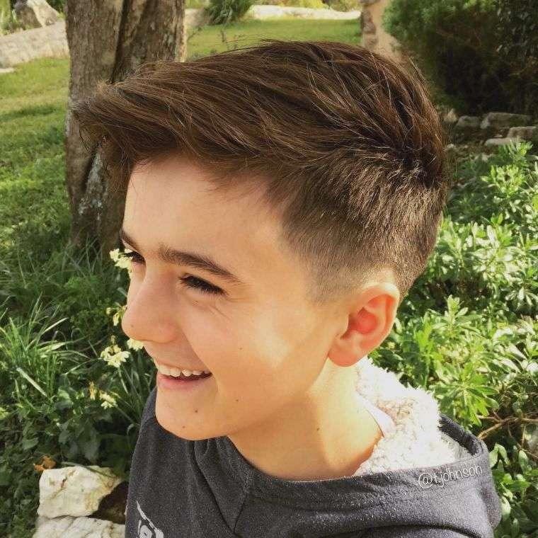 cortes de pelo para chicos clean