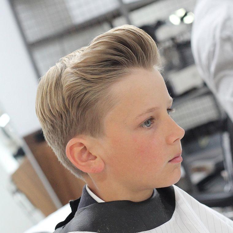 cortes de pelo para chicos copete conico