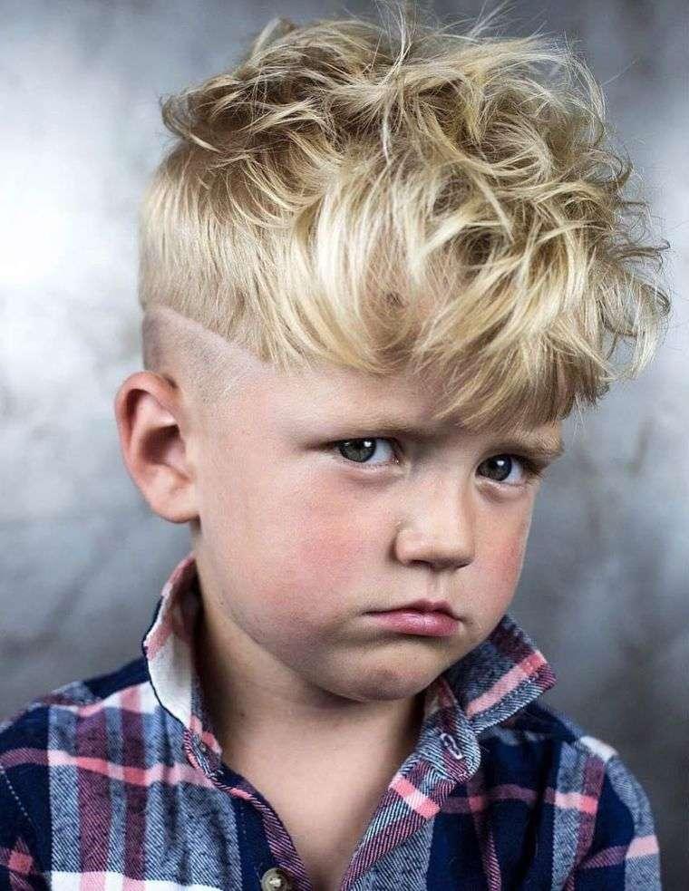 cortes de pelo para chicos desordenado