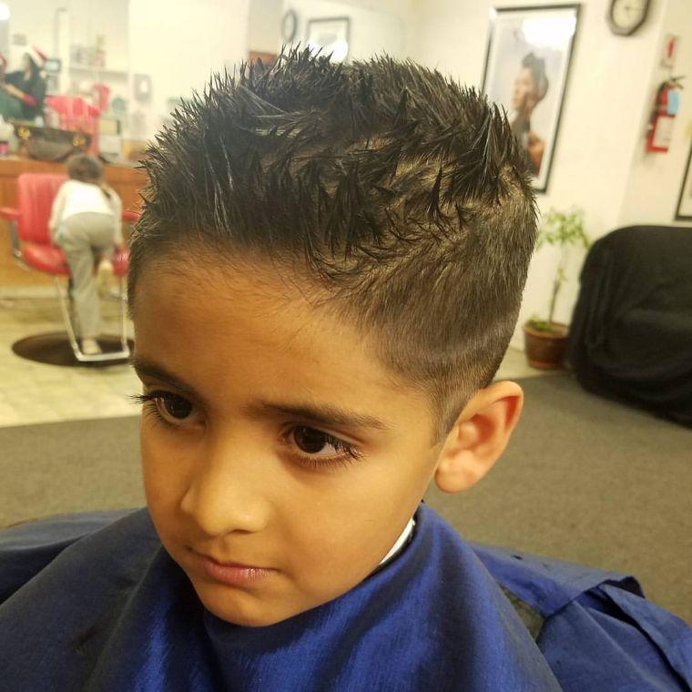 cortes de pelo para chicos ligero