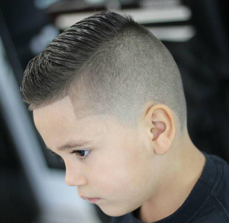 cortes de pelo para chicos parte lateral
