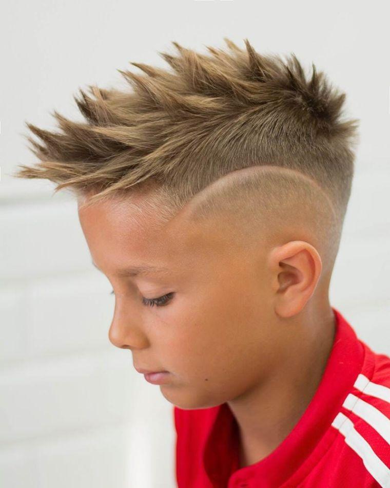cortes de pelo para chicos puntas