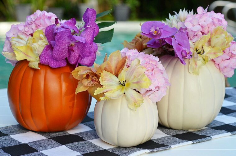 decora tu casa floreros