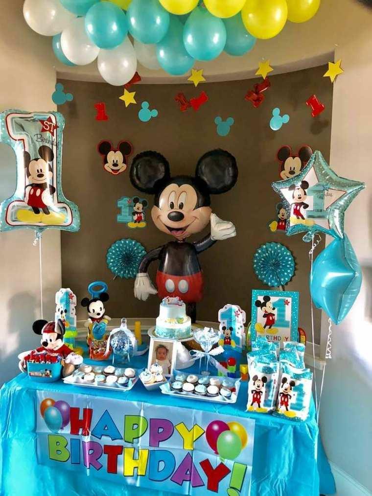 Decoración De Cumpleaños Con Tema De Mickey Mouse 99 Ideas