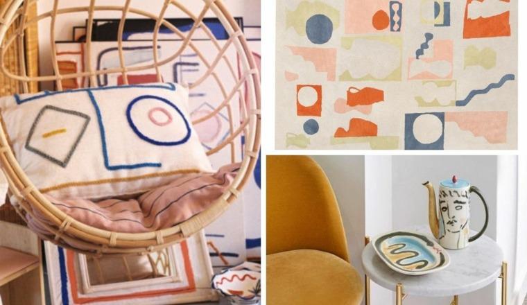 Interiores inspirados en el arte