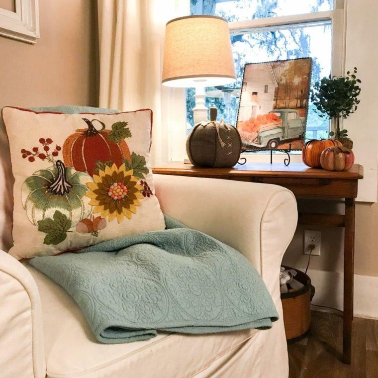 decoracion sala de estar cojin
