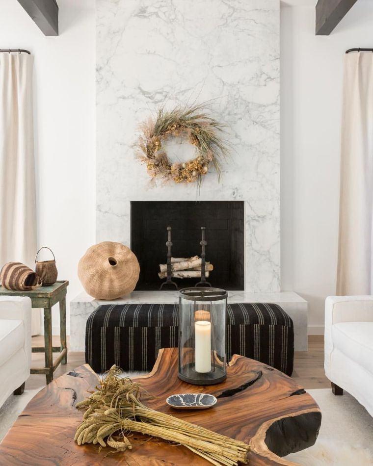 decoracion sala de estar corona