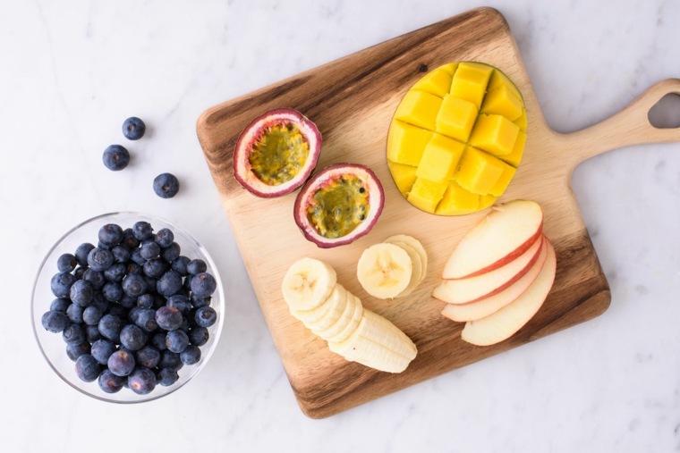 desayuno frutas