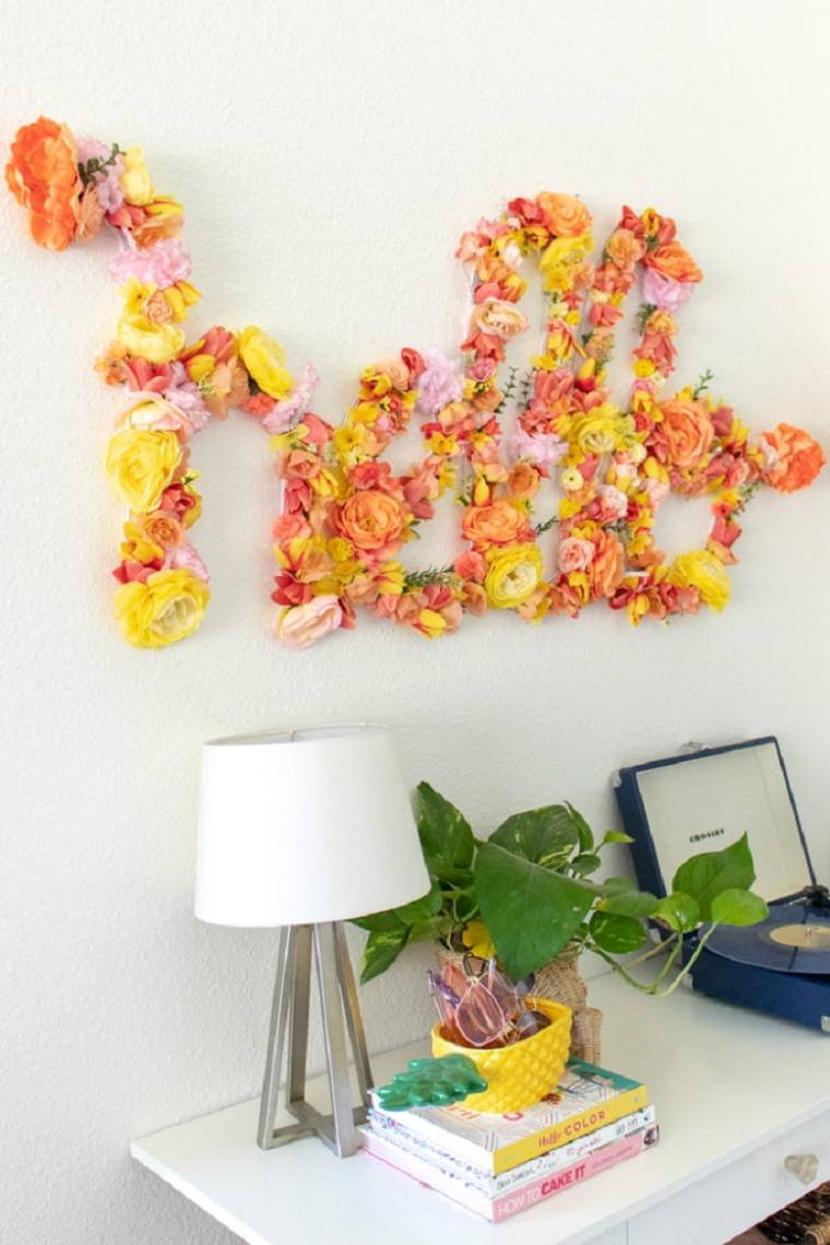 diy decor-flores-ideas