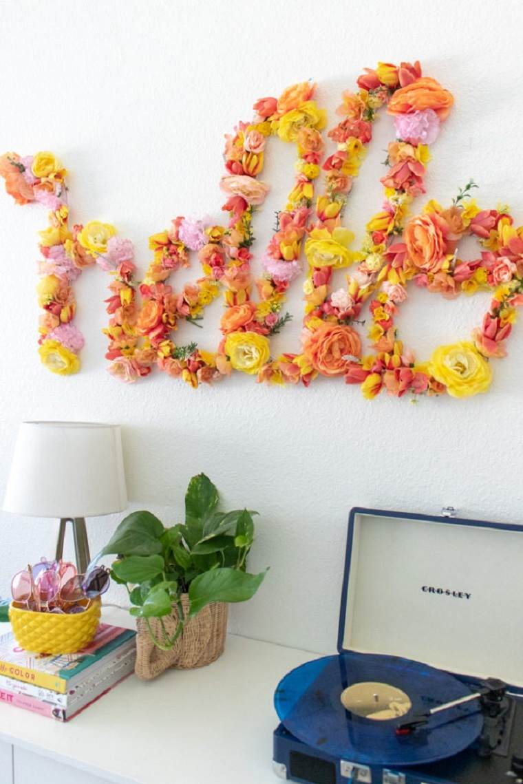 diy-decor-flores-letras