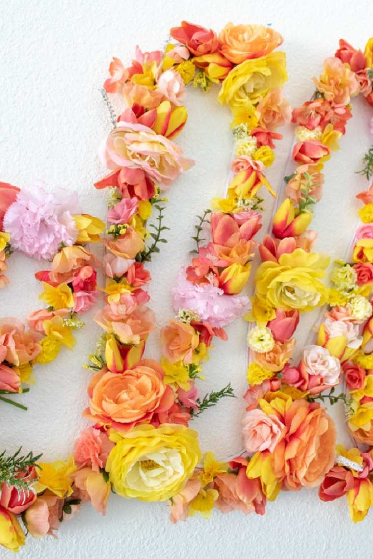 diy-decor-flores-pared