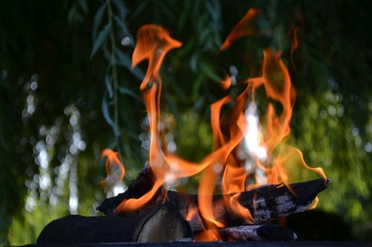 fuego abierto