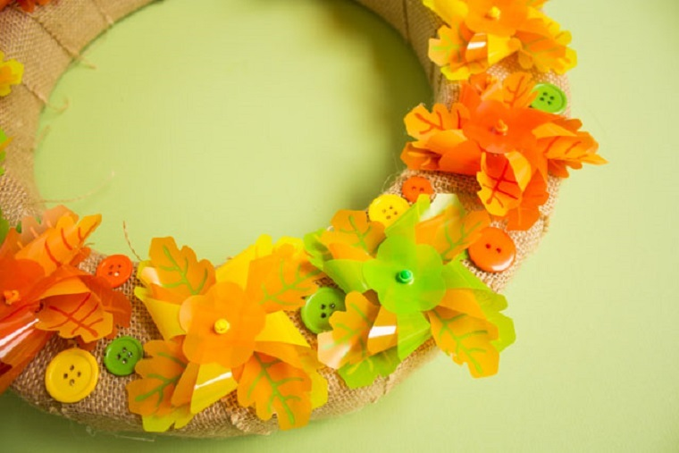 ideas-creativas-de-manualidades-otono-hojas