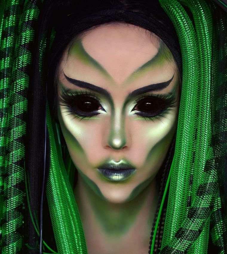 ideas para halloween alien