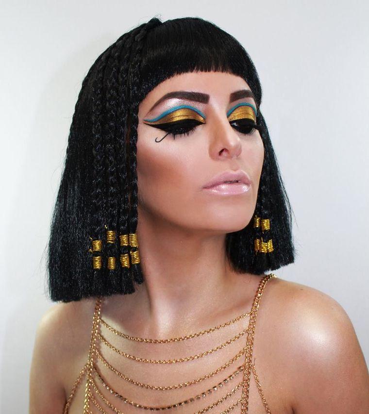 ideas para halloween cleopatra