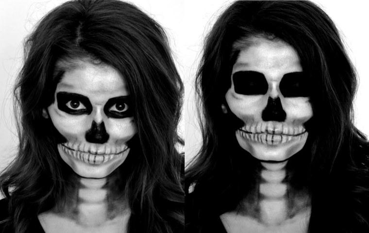 ideas para halloween esqueleto