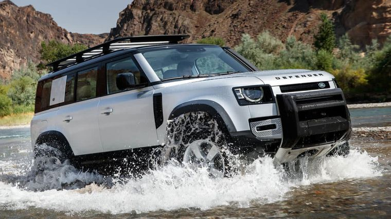 land rover agua
