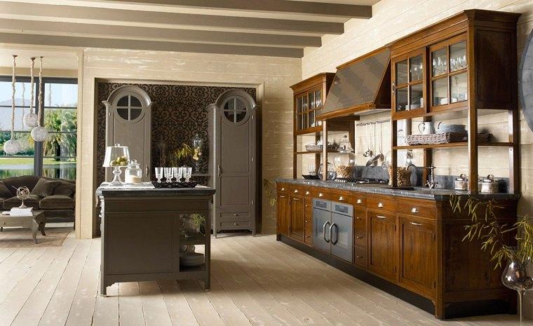 modelos-de-islas-para-cocinas-estilo-eclectico
