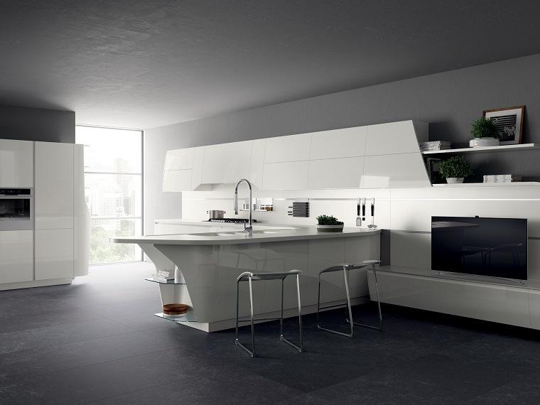 modelos-de-islas-para-cocinas-modernas-blancas