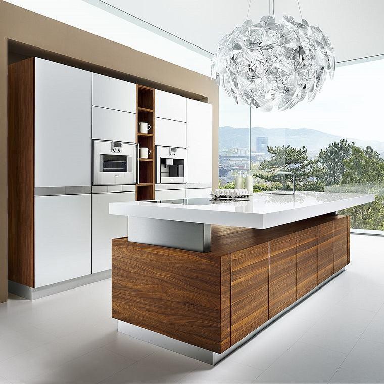 modelos-de-islas-para-cocinas-modernas-elemento-madera