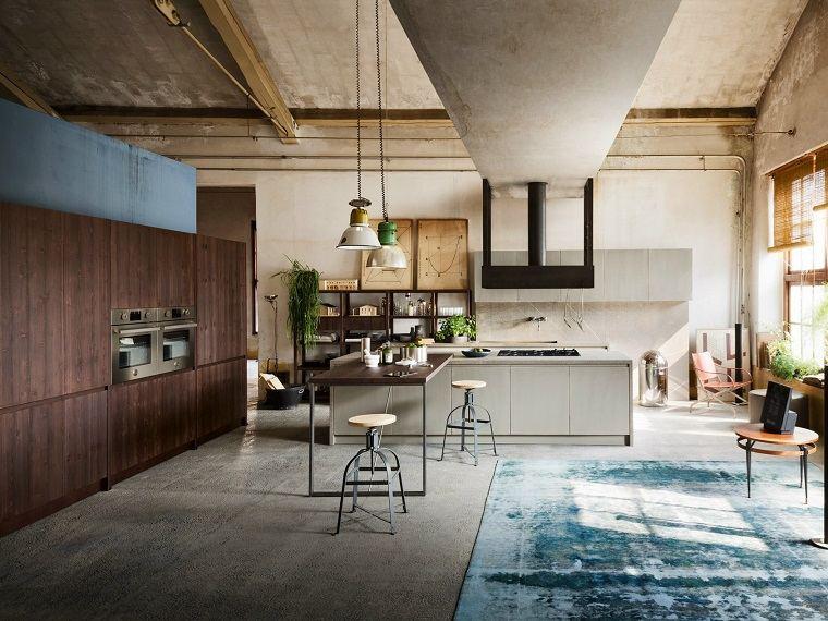 modelos-de-islas-para-cocinas-modernas-estilo-industrial