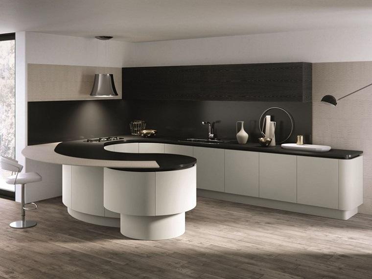 modelos-de-islas-para-cocinas-modernas-forma-ovaladas