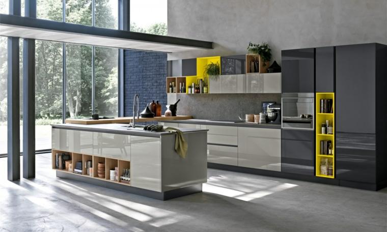 modelos-de-islas-para-cocinas-modernas-gris-ideas