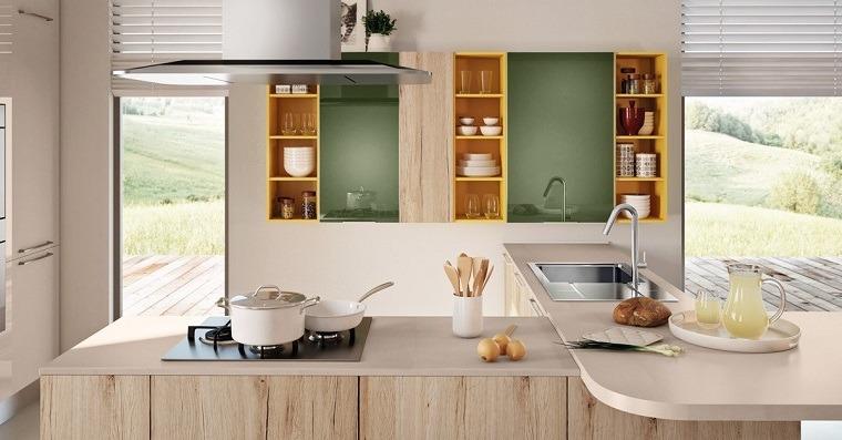 modelos-de-islas-para-cocinas-muebles-madera