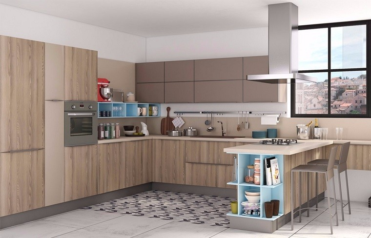 muebles-madera-color-gris