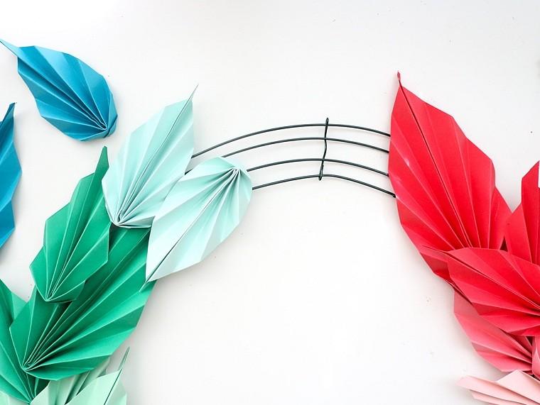 origami-hojas-ideas-opciones-tutorial-doblar-colores-vibrates