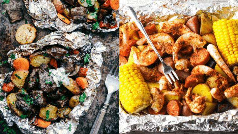 platos a fuego abierto