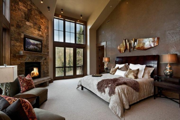 dormitorio lujoso