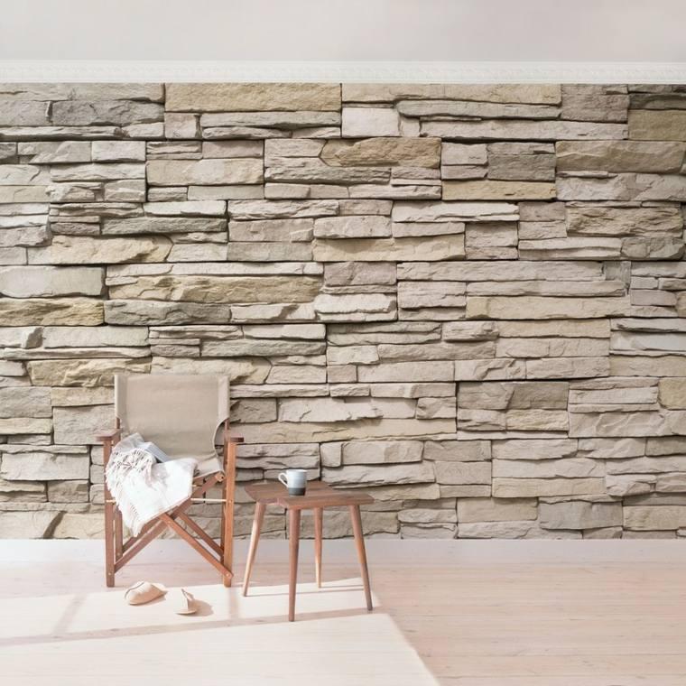 muro de piedra acento