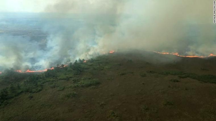 Los incendios en el Amazonas también amenazan el oxígeno atmosférico que respiramos