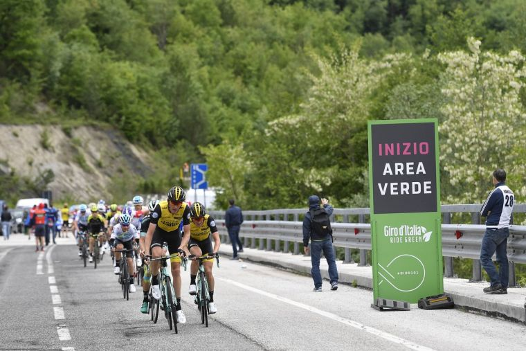 ride green giro-italia-ecologia