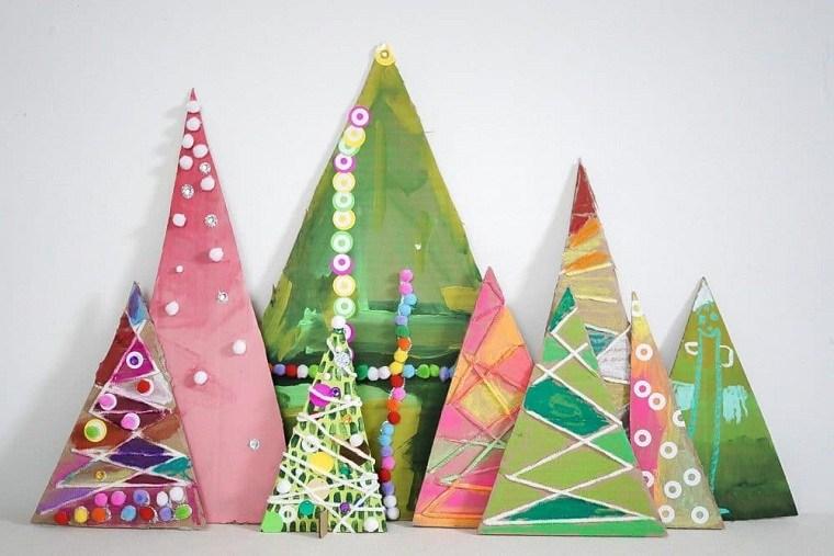 adornos de navidad con material reciclado opciones