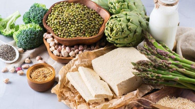 alimentos vegetales ricos en proteinas varios